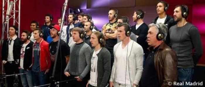 Photo of نجوم الريال يغنون على إيقاع موسيقى المغربي ريدوان