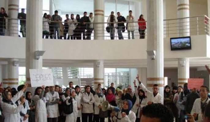 Photo of إضرابات وغضب لطلبة الطب والصيدلة