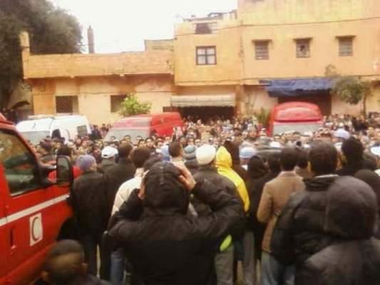 Photo of المحمدية: شخص يذبح مصليا داخل مسجد