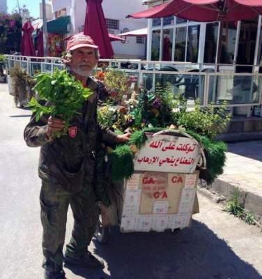 Photo of بالصورة: تونسي يحارب الإرهاب بالنعناع !