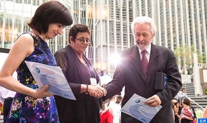 Photo of عائشة الشنا تفوز بجائزة البنك الدولي لأفضل رائد في مجال المساءلة الاجتماعية