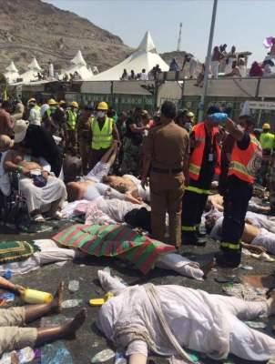Photo of الدفاع المدني السعودي: وفاة أكثر من 150 حاجا وإصابة أكثر من 430 آ