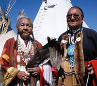 First Nations elders in Saskatchewan