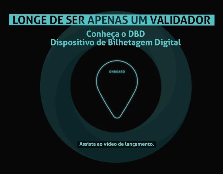 Dispositivo de Bilhetagem Digital ONBOARD