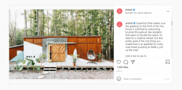 agorapulse content creation curation airbnb