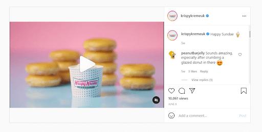 agorapulse content creation curation krispy kreme