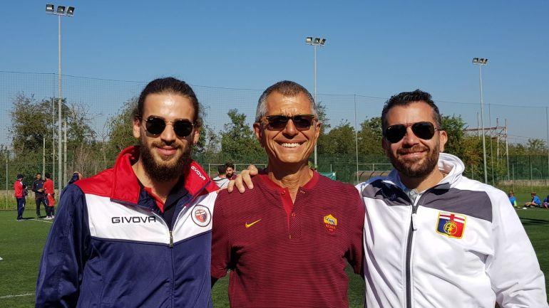 Gli allenatori della Fc Agora ospiti della A.s. Roma