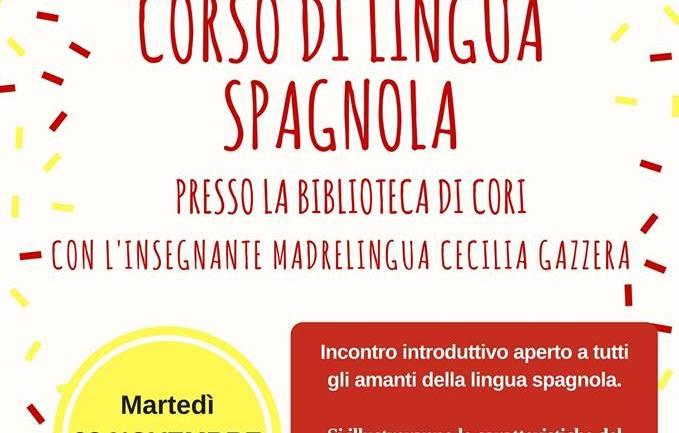 Riparte a Cori il corso gratuito di lingua spagnola