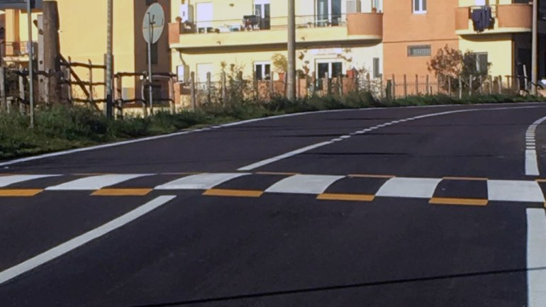 Giulianello di Cori: completati i lavori di manutenzione del tratto urbano della strada Velletri-Anzio