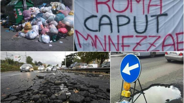 Roma – rifiuti. Una non-emergenza, gestita come un'emergenza, ma senza dichiarare l'emergenza