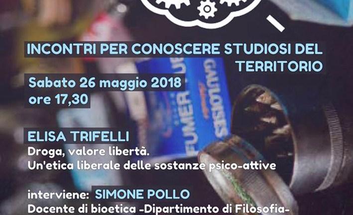 Droghe, valore, libertà. Elisa Trifelli apre a Cori la nuova edizione di Cervelli in Scena