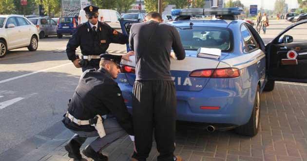 Latina. Arresti e sequestri della Polizia di Stato nel weekend scorso
