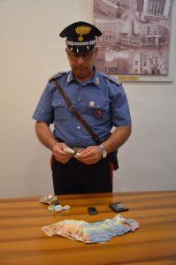Pontinia. In possesso di cocaina e contanti, arrestati