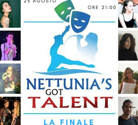 """""""Nettunia's Got Talent"""": la finale! Sabato 25 agosto alle 21:00 presso il Teatro Spazio Vitale"""