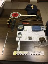 Formia. Tre pregiudicati arrestati per droga e armi finte