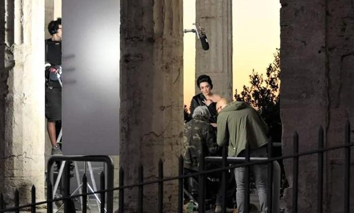 Terminate le riprese di 'Io e lei' a Cori. La Divina Callas