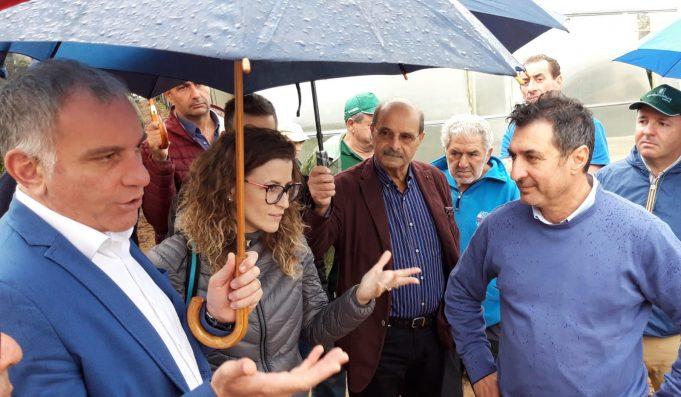 L'assessore regionale Onorati visita i comuni colpiti dal maltempo
