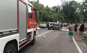 Lenola. Incidente stradale a Valle Bernardo, muore Ivan Lostocco