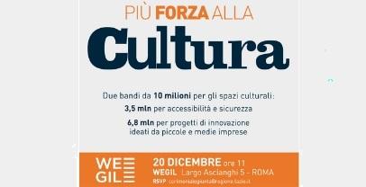 Regione. 10 milioni per i luoghi della cultura