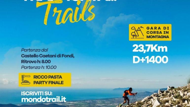 """Al via le iscrizioni per il 1° """"Monte Vele Trail"""",  gara di corsa in montagna organizzata  dall'associazione Ars et Vis"""