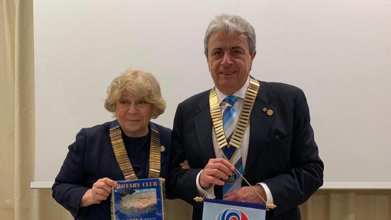 Patrizia Cardone, Governatore Rotary, in visita a Latina