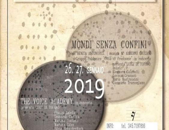 """Frosinone. """"Mondi senza confini"""" il 26 e 27 gennaio al Paolo Colapietro"""