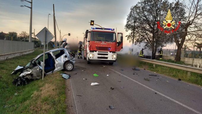 Sezze, incidente con due morti e un ferito grave