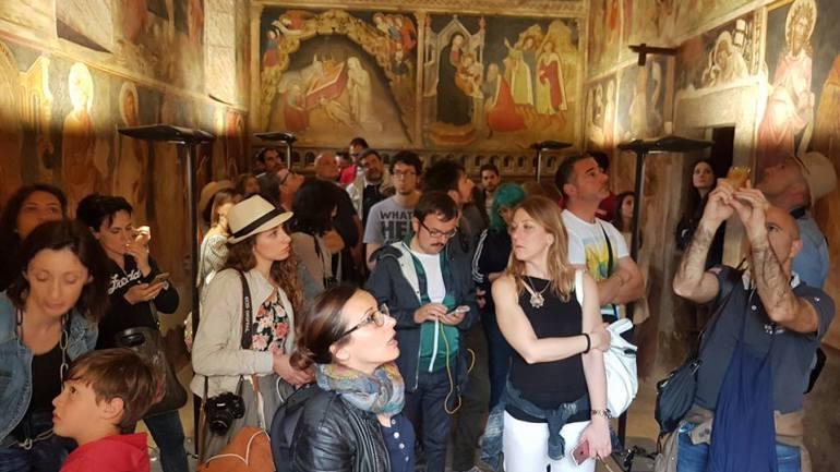 Domenica a Cori i luoghi speciali aperti al pubblico:  Cappella dell'Annunziata e Chiesa di Sant'Oliva