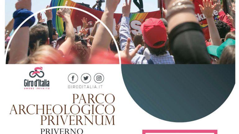 Il Giro d'Italia si ferma a Privernum