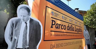 Legalità:Inaugurato il parco della Legalità di Roccabernarda