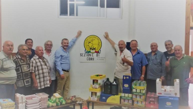 Federcaccia e solidarietà. La sezione di Cori dona derrate alimentari alla mensa cittadina