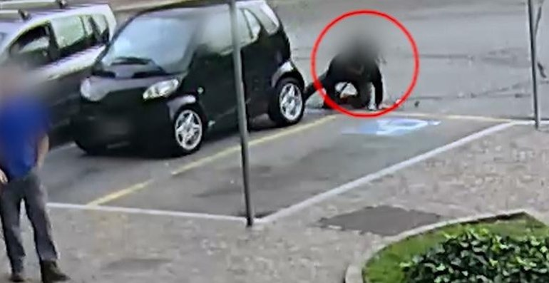 Latina. Truffatore acrobata si butta sotto le auto degli anziani e chiede soldi