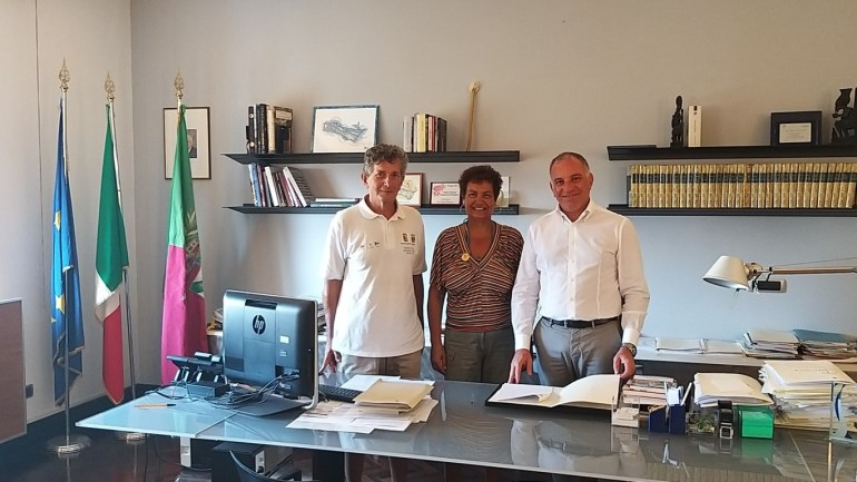Il Circolo Legambiente Terracina sottoscrive il documento di intenti per la Costituzione del Contratto di Costa dell'Agro Pontino.