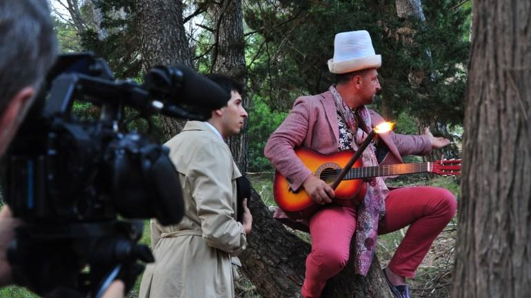 """Maenza ospita le riprese del corto """"Pioggia nel deserto"""" di Pal Kolndrekaj"""
