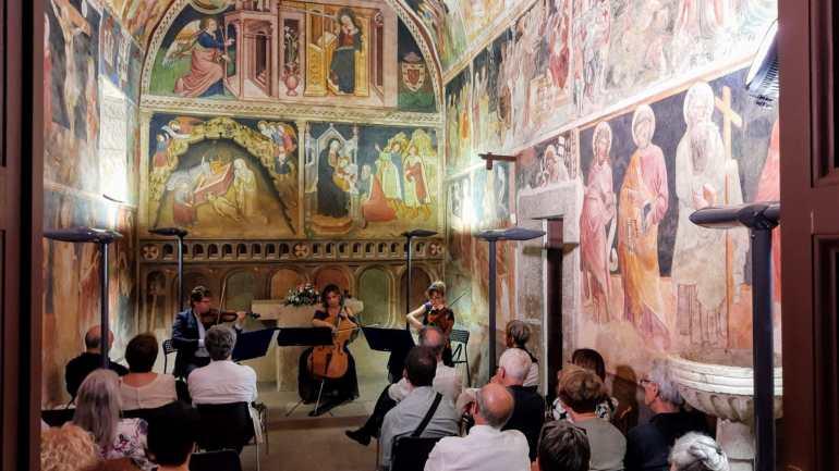 I Cameristi del Maggio Musicale Fiorentino incantano alla Cappella dell'Annunziata di Cori