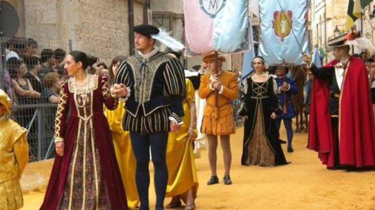 I costumi del Palio del Tributo approdano al Museo delle Civiltà di Roma