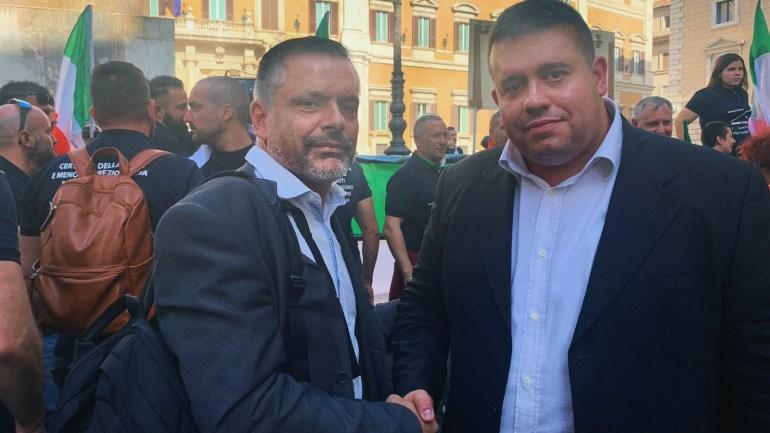 Roma. L'UGL a sostegno delle forze dell'Ordine