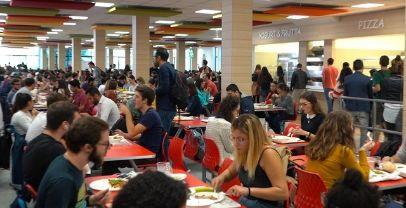 Diritto allo studio:a Roma una nuova mensa universitaria plastic free