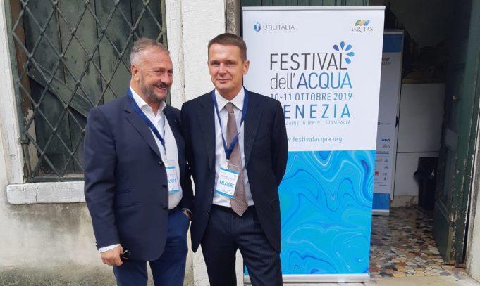 Venezia. Acqualatina al Festival dell'Acqua 2019