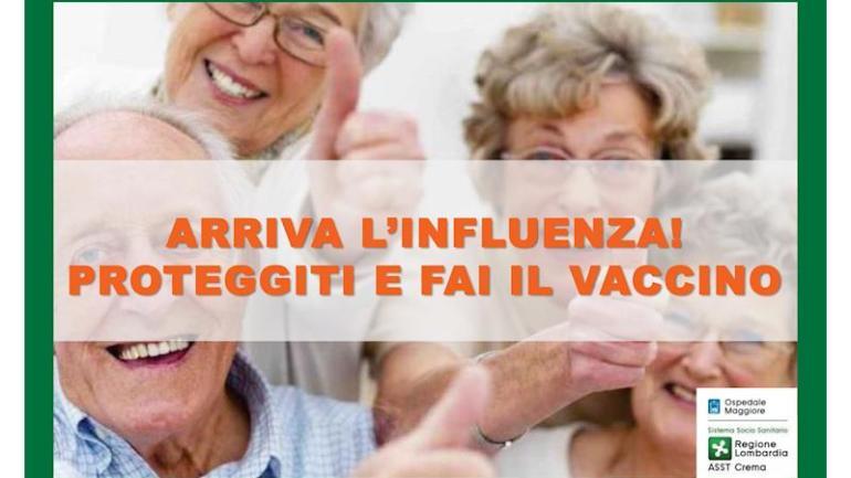 Sanità: al via da oggi la campagna antinfluenzale