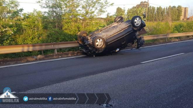 Pontina/148: ennesimo incidente, ennesimo blocco stradale