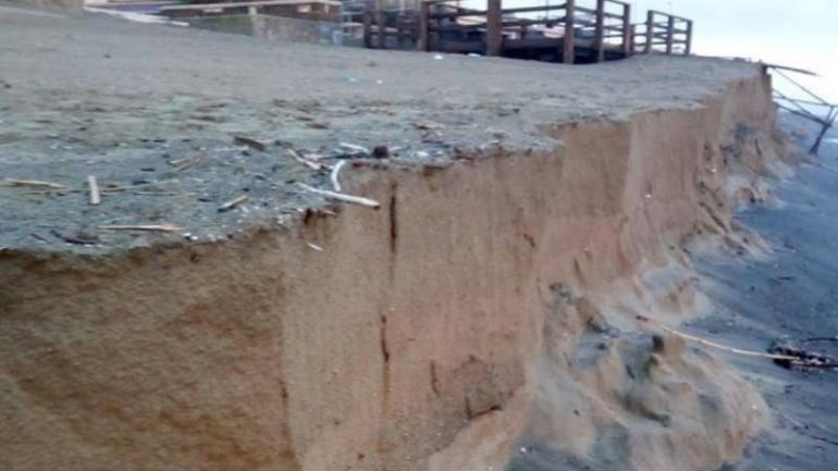 Latina. Erosione costiera e polemiche