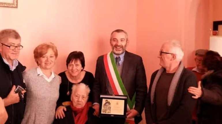 A Cori festa per i 100 anni di Maria Bravo