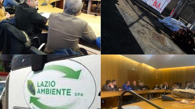 Regione Lazio, audizione per i lavoratori di Lazio Ambiente Spa