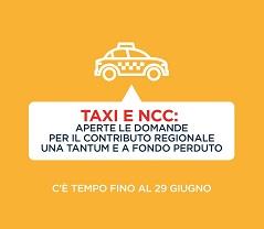 Regione Lazio. Taxi e Ncc: aperte le domande per il contributo regionale