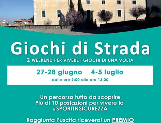 Regione Lazio: giochi di strada  a palazzo Doria Pamphilj di San Martino al Cimino