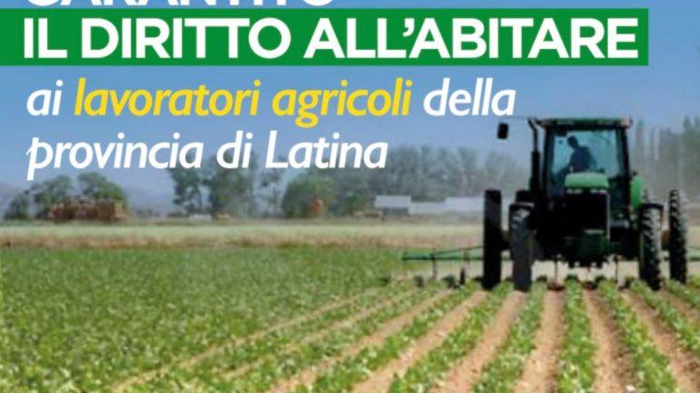 Caporalato Regione Lazio: sottoscritto accordo per la qualità dell'abitare in agricoltura