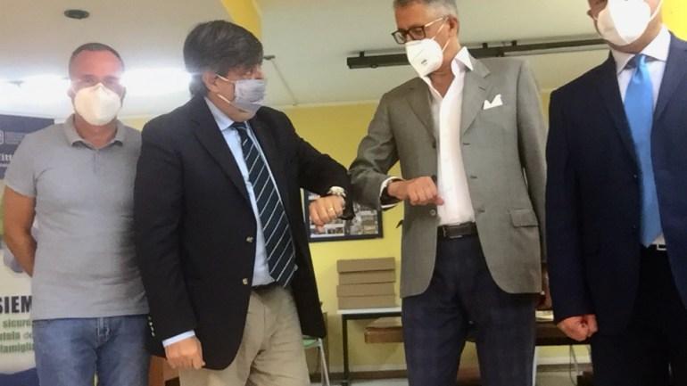 """CLAAI Assimprese e ACLI provinciali di Latina  insieme in una comune azione sinergica di """"servizio""""  al territorio"""