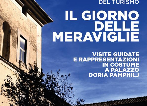 Palazzo Doria Pamphilj domenica 27 settembre protagonista del  Giorno delle Meraviglie