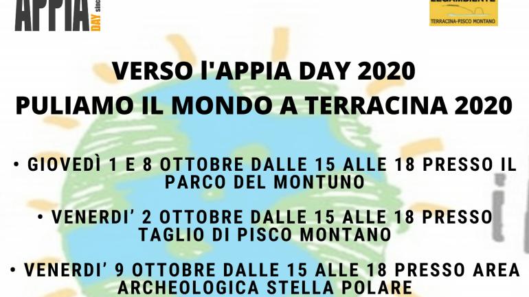 "Legambiente Terracina partecipa alla campagna ""Puliamo il mondo 2020"""